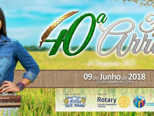 Eletroeste presente na 40ª Festa do Arroz de Uruguaiana/RS