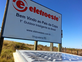 1º Outdoor Inteligente do Brasil Desenvolvido pela Eletroeste