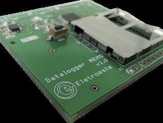 Lançamento Novo Produto Desenvolvido pela Eletroeste, Registrador de Vibrações em Cartão SD