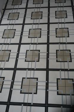 carreau de ciment Art Déco