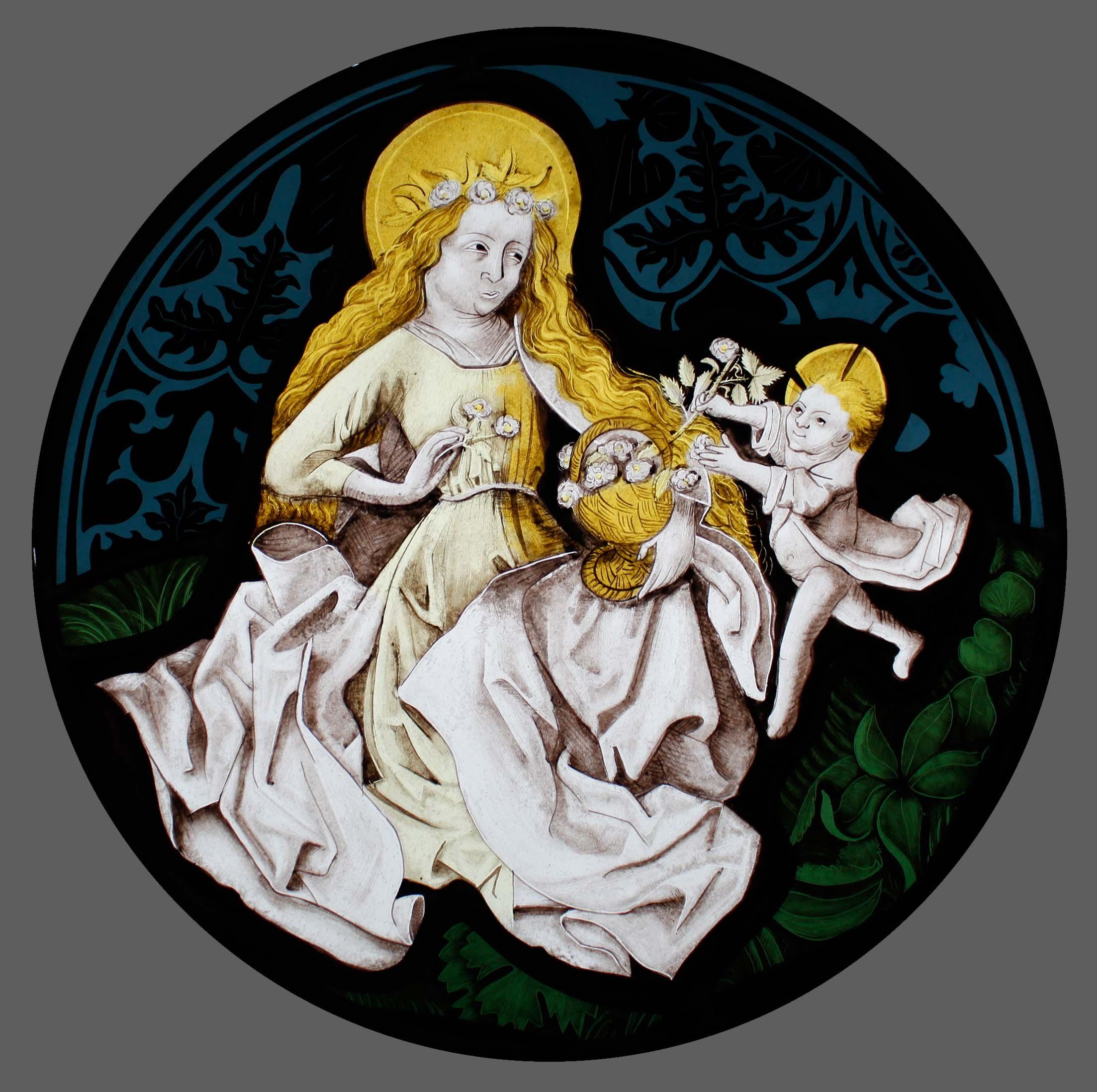 Copie de vitraux - XVe siècle
