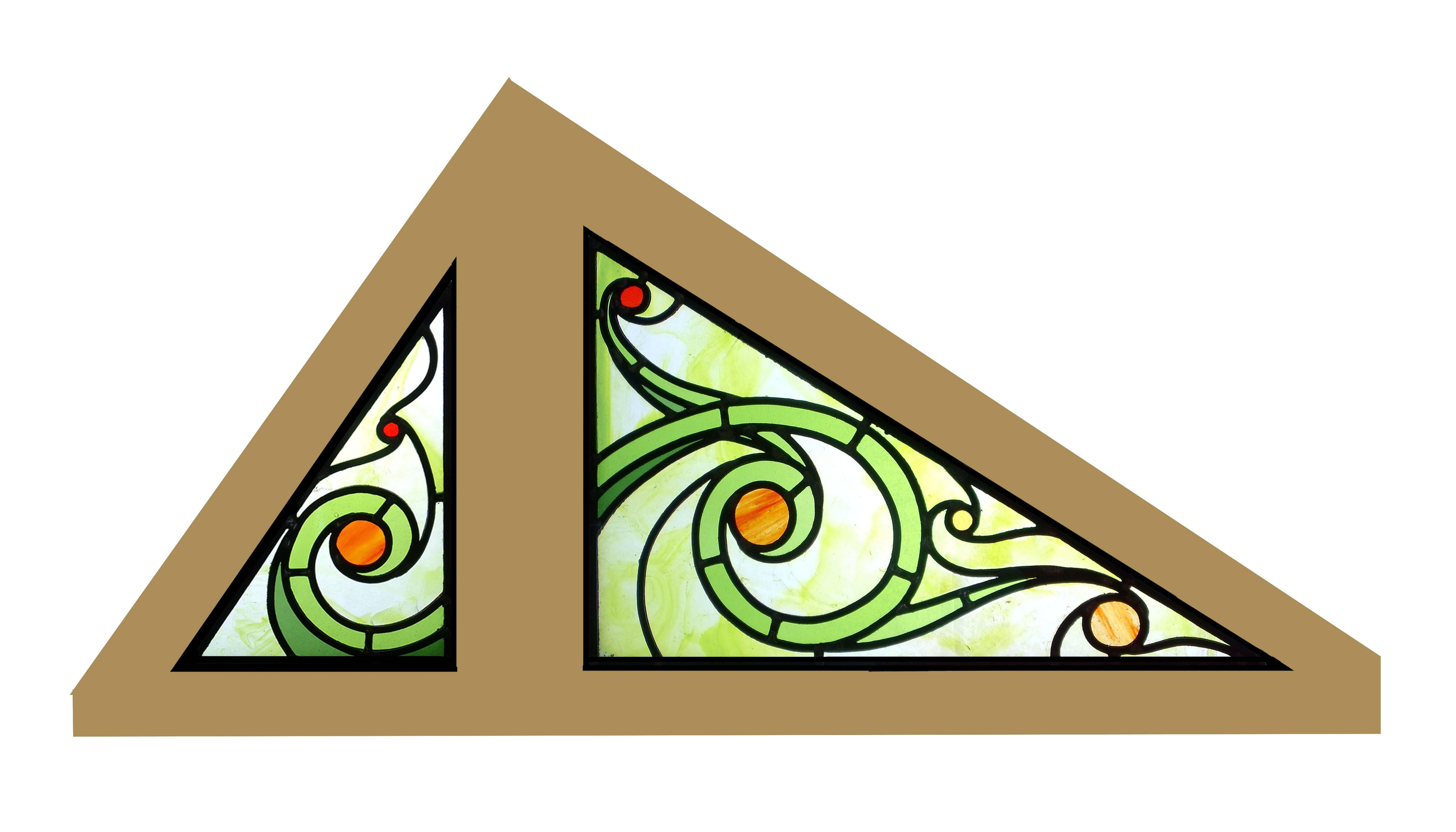 Création de vitraux - 2014