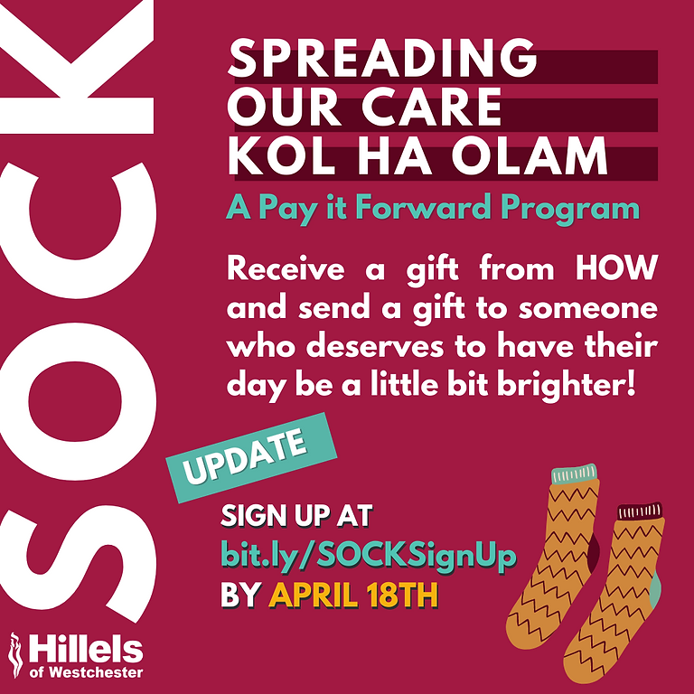 Spreading Our Care SOCK Initiative