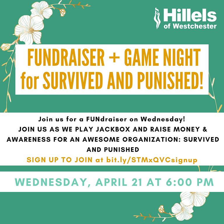Fundraiser + Game Night
