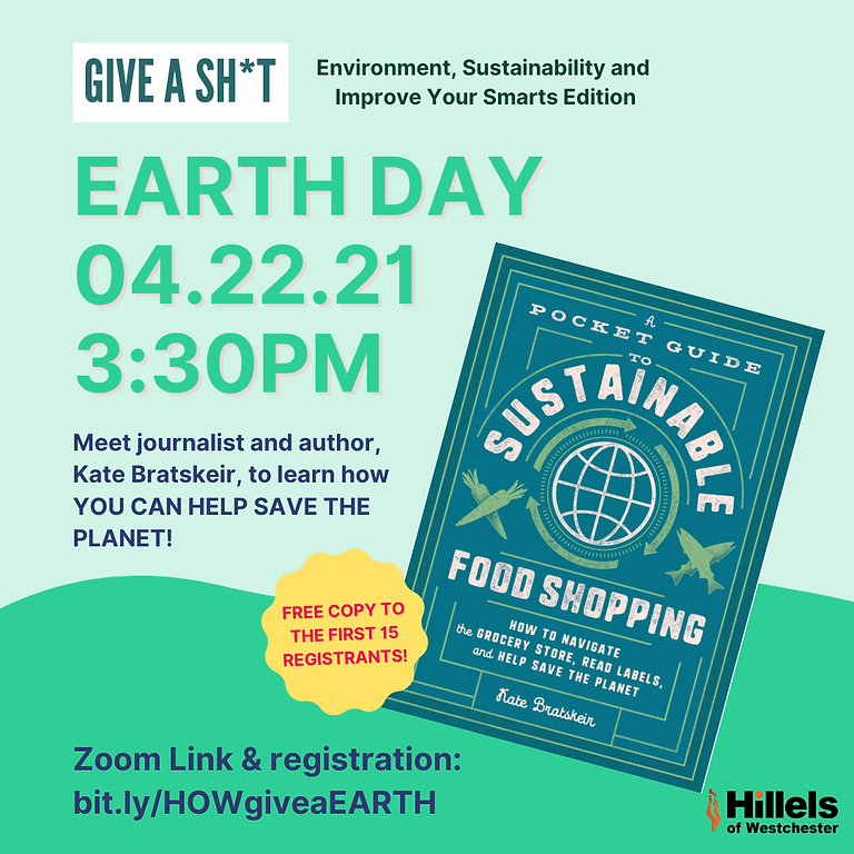 Give a Sh*T: Earth Day Book Event