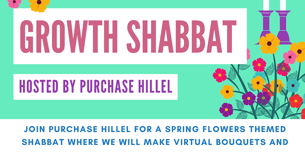 Growth Shabbat with Purchase Hillel