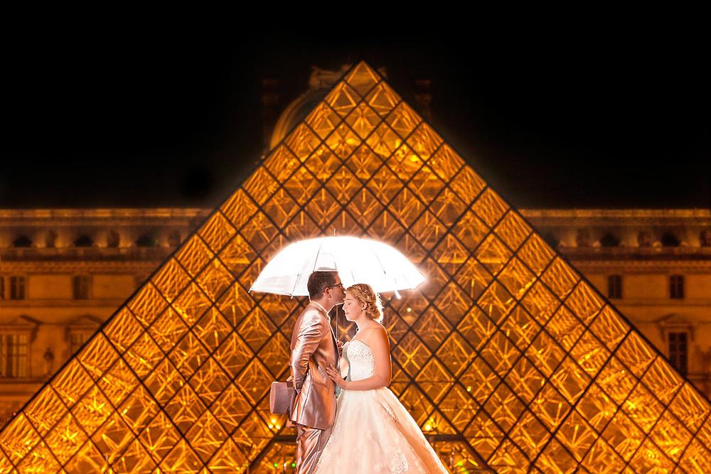 photo de mariage - photographe 95 - val d'oise - paris - 75 - vieophoto-pro.com - louvre