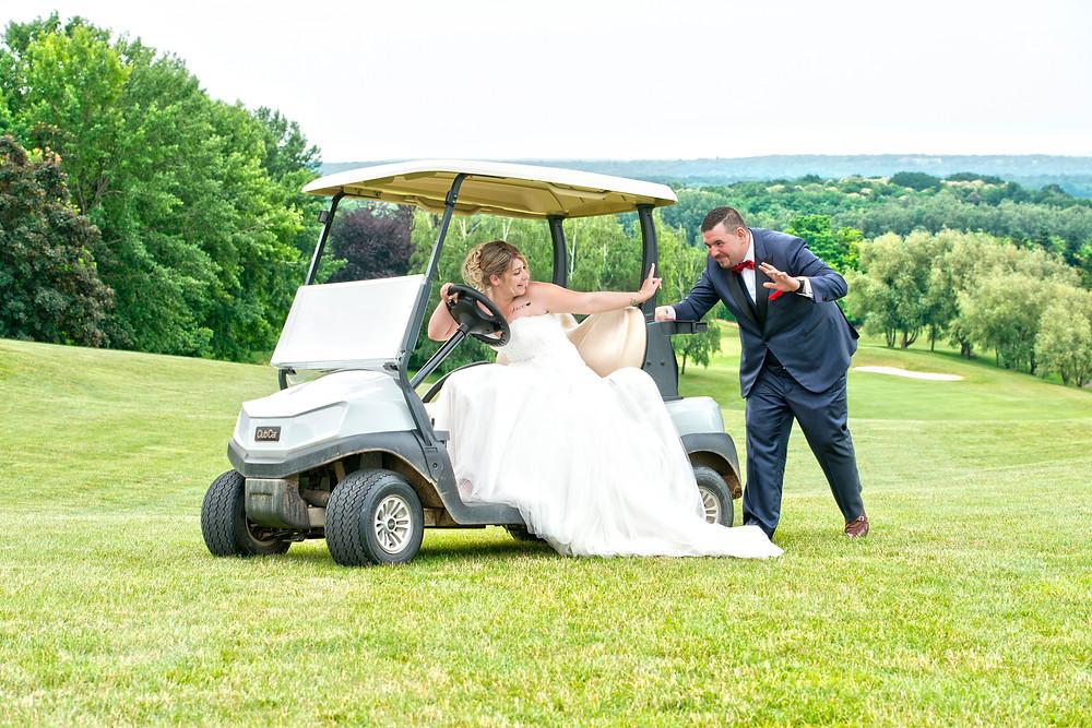 golf de Mont Griffon   95   val d'oise   photographe de mariage   photo de couple