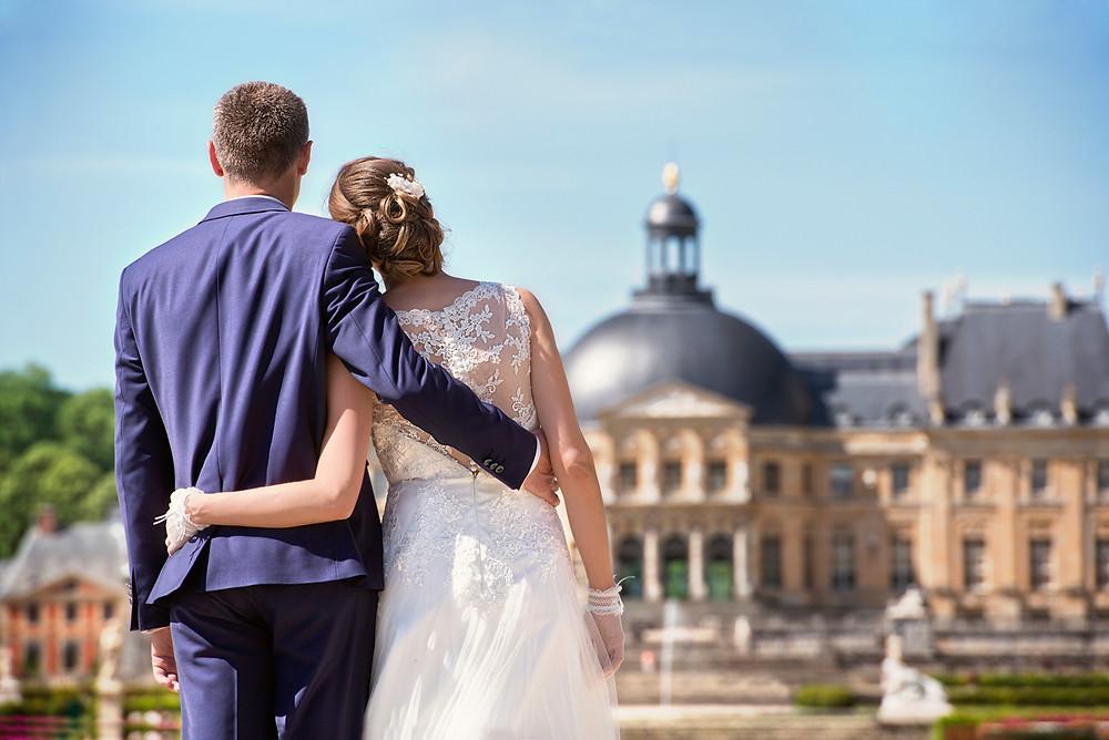 photographe de mariage - chateau de Vaux le Vicomte - 77 - 95 - val d'oise - marne la vallee