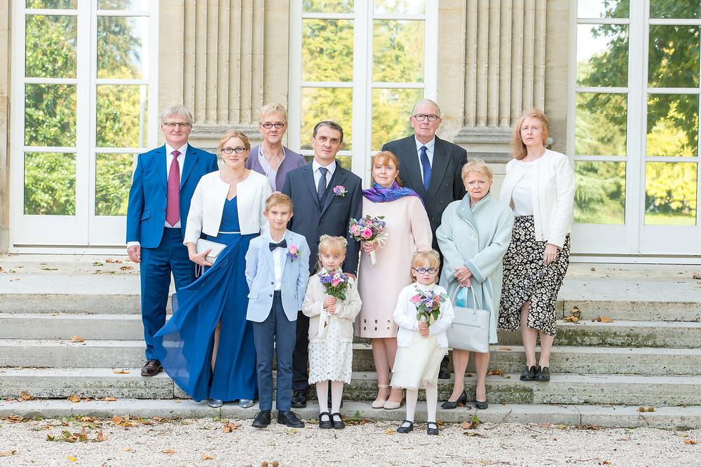 photographe de mariage - montmorency - collégiale - 95 - val d'oise - photo de groupe