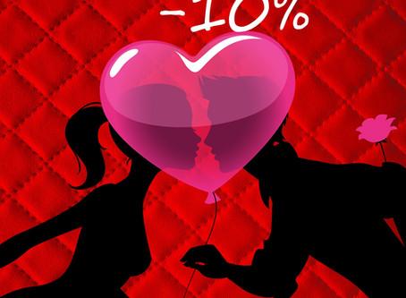 Promotion Spéciale St Valentin