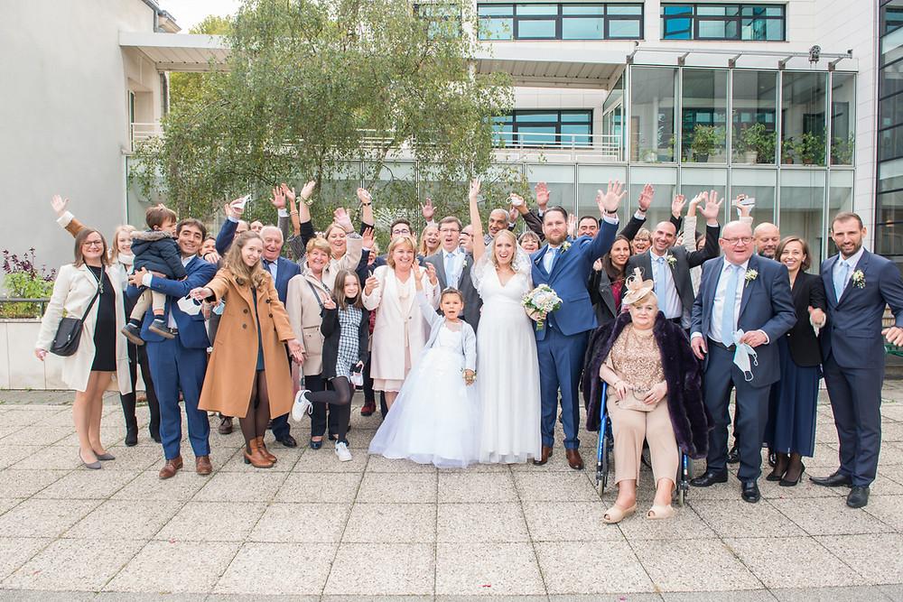 photographe de mariage | sannois 95 | photo de groupe | val d'oise | franconville