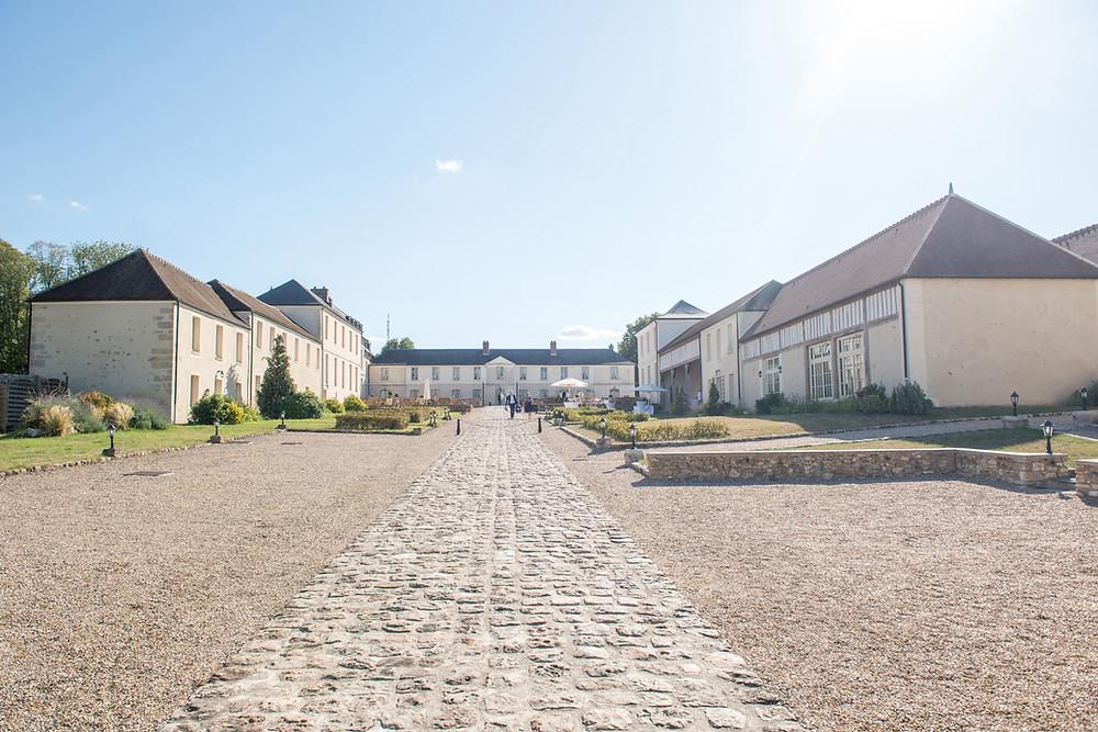 salle de reception - chateau de maudetour - vexin - val d'oise - 95 - salle de mariage - vu d'ensemble