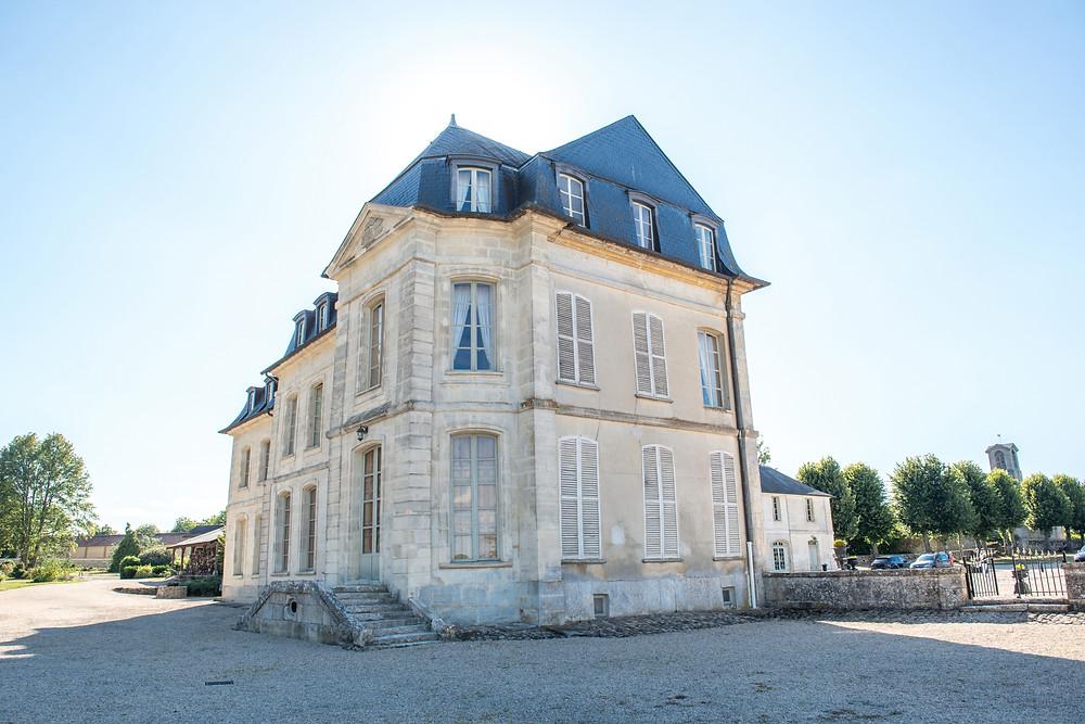 salle de reception - chateau de maudetour - vexin - val d'oise - 95 - salle de mariage