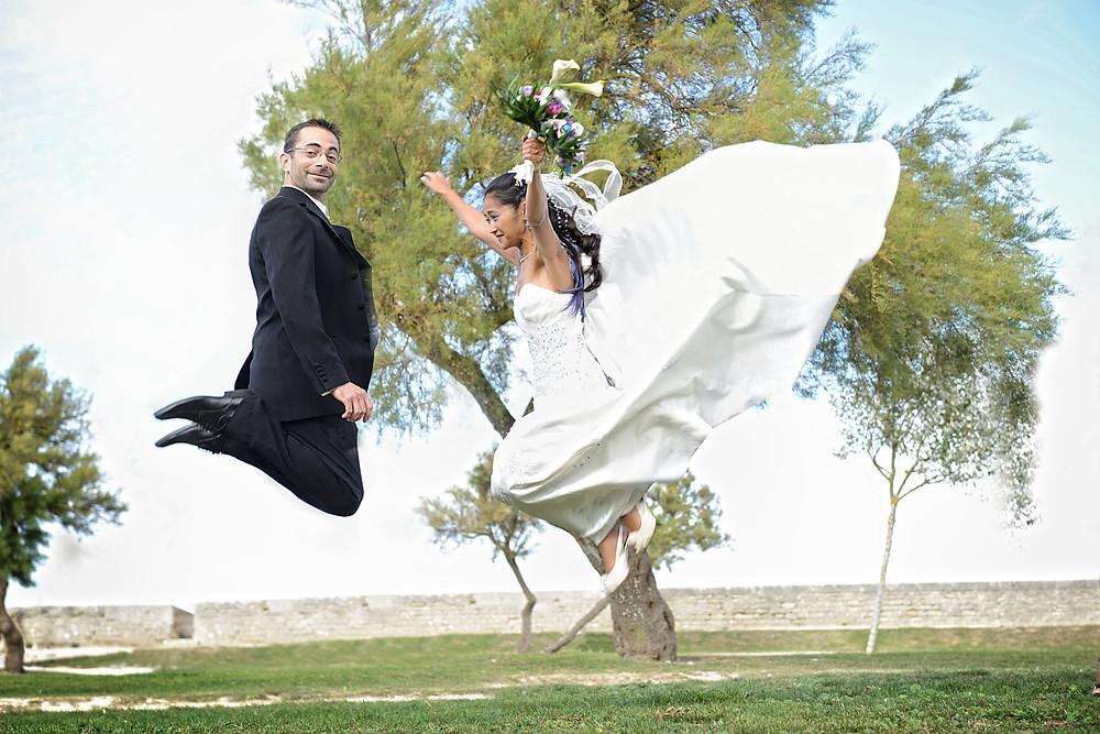 photo couple mariage - ile de ré - val d'oise - 95 - videophoto-pro.com - cergy-pontoise