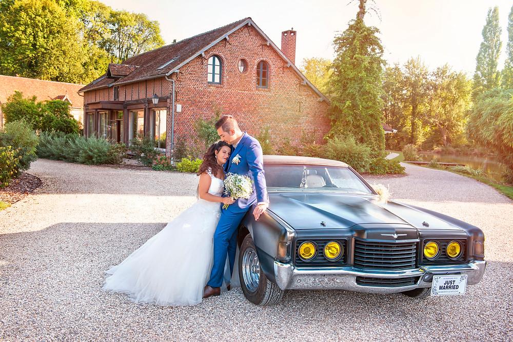 photographe de mariage  - 95 - val d'oise - 60 - oise - Trie la ville - Moulin de la Forge à Vaumain