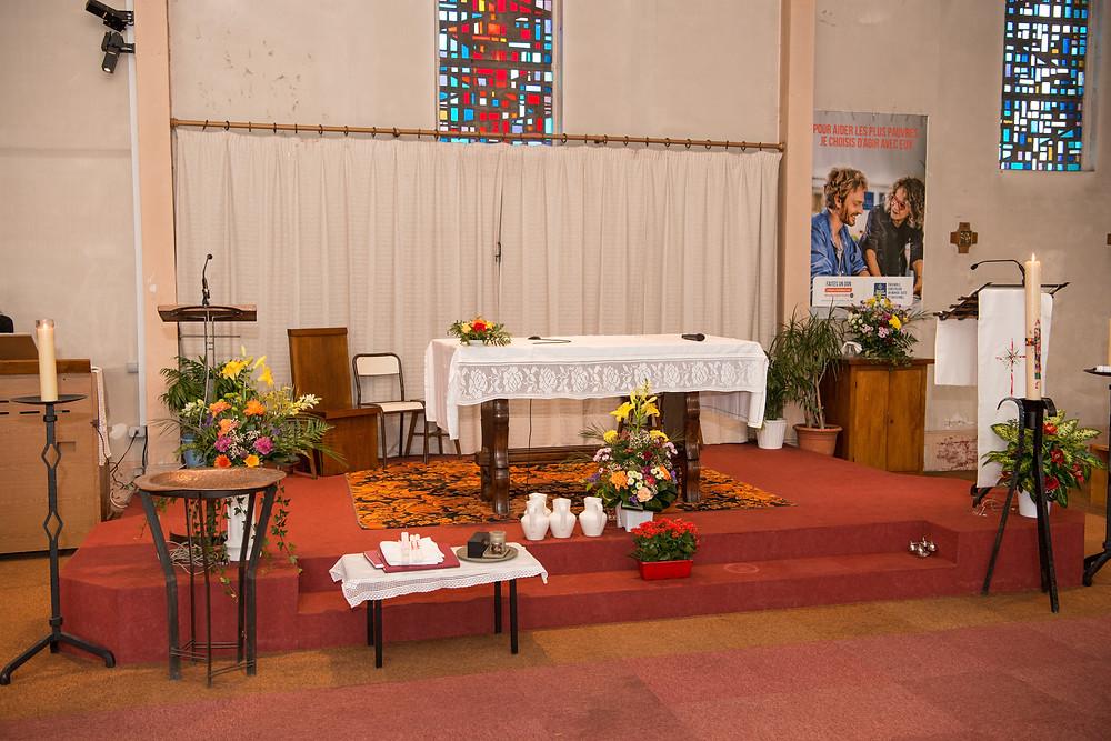 eglise de blanc mesnil - 93 - photographe de baptême