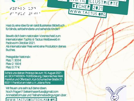 Internationaler Wettbewerb für Taktil illustrierte Bücher <3