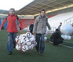Займись спортом, запишись в футбольную Академию!