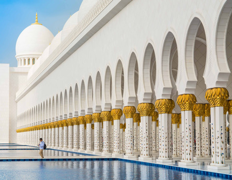 The Grand Mosque of Sheikh Zayed