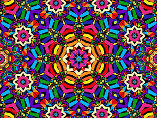 The Unique Style of the Kaleidoscope Dancer