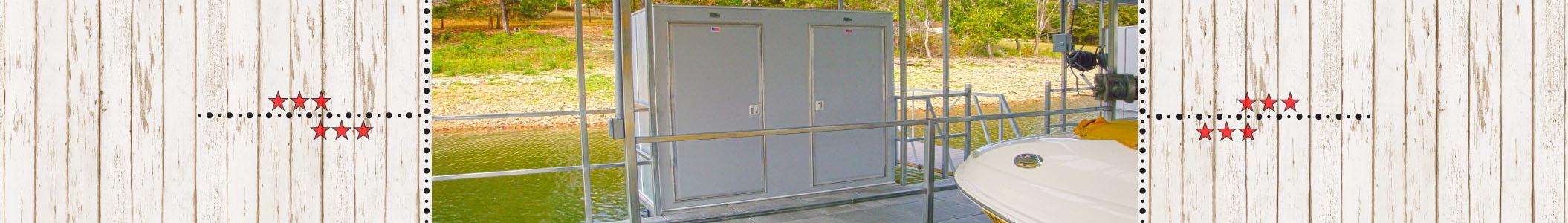Stow It Safe Dock Lockers & Storage Lockers Table Rock Lake Missouri