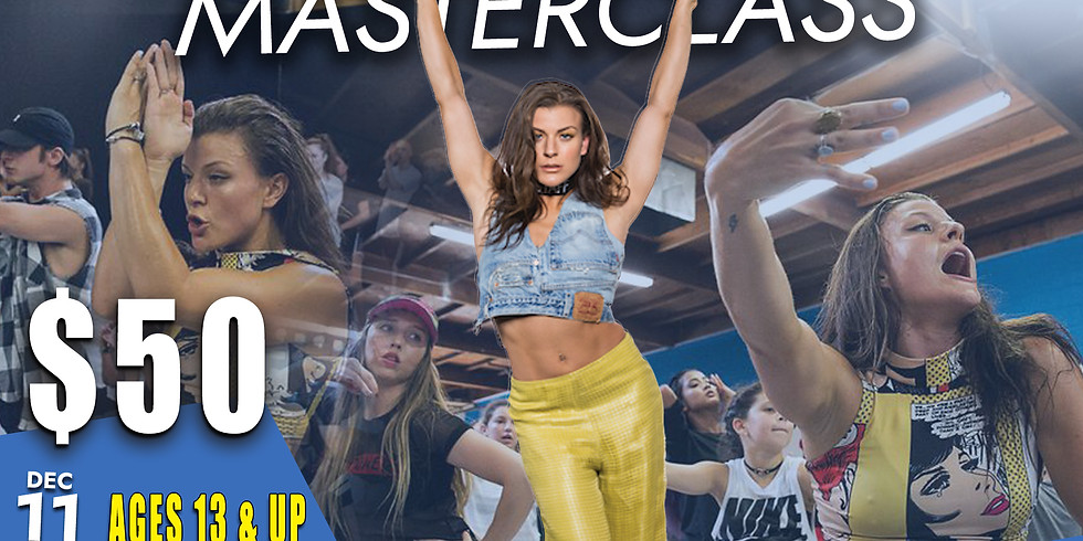Janelle Ginestra 13 and Up Masterclass