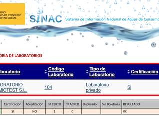 QUIMIOTEST favorable a la Auditoría de Laboratorios de SINAC