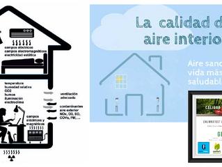 ¿Sabes que el aire interior está de media 2-5 veces más contaminado que el exterior?