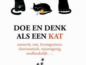 Boekentip: 'Doe en denk als een kat'