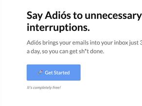 Meer controle tijdens het thuiswerken door mail per uur te ontvangen