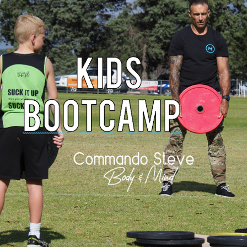 BOOTCAMP kids only - 9.30am, 28th March, 2020