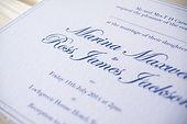 Elegan wedding invitation