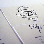Scipt wedding invitation