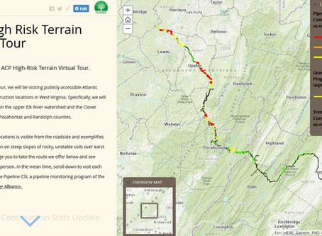 ACP High Risk Terrain Virtual Tour - Story Map