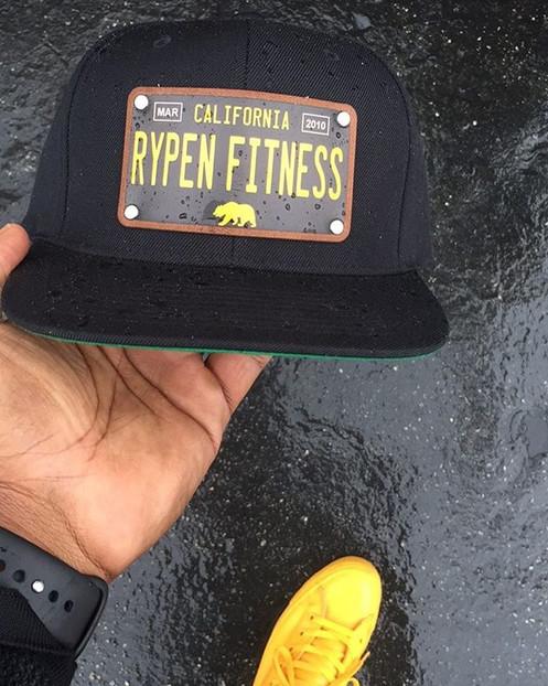 Rypen Fitness California License Plate Hat