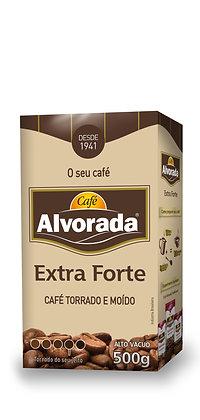 Café Alvorada Vácuo 500g - Extra Forte › Torrado e Moído