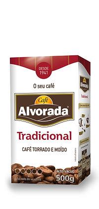 Café Alvorada 500g Vácuo - Tradicional › Torrado e Moído