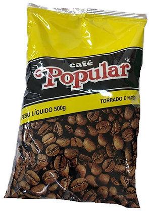 Café Popular  - 500g -  Torrado e Moído