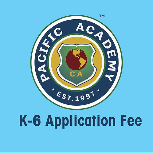 K-6 Application Fee