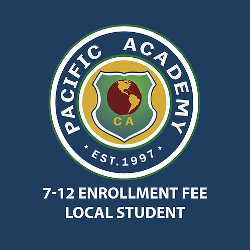 7-12 Enrollment Fee (Local Student)