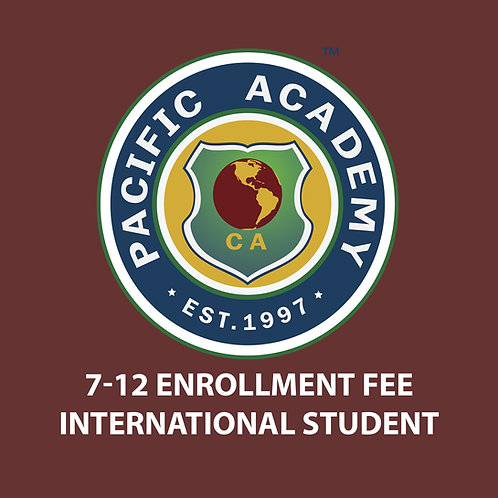 7-12 Enrollment Fee (International Student)