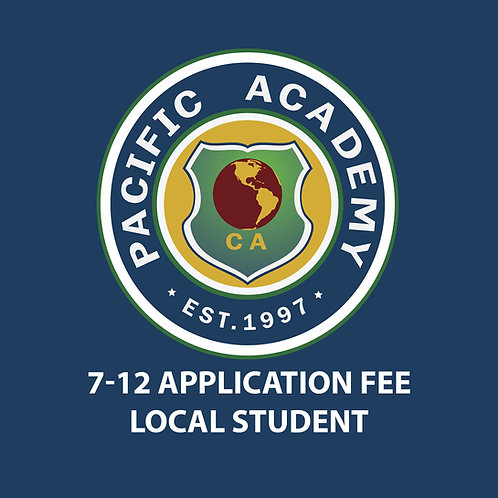 7-12 Application Fee (Local Student)