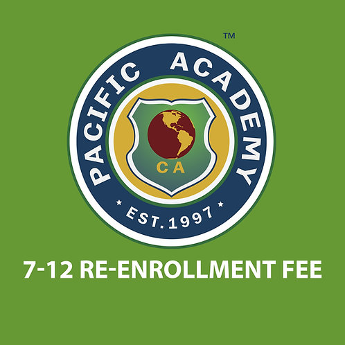 7-12 Re-enrollment Fee