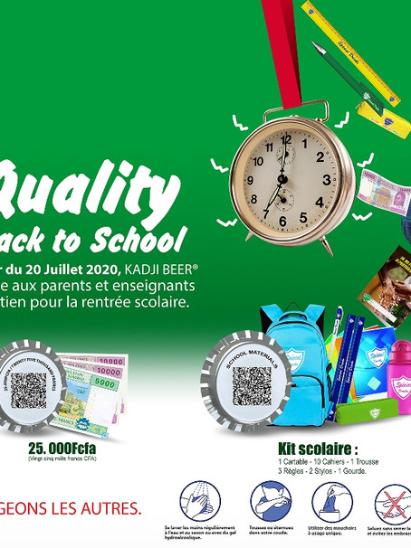 QUALITY BACK TO SCHOOL