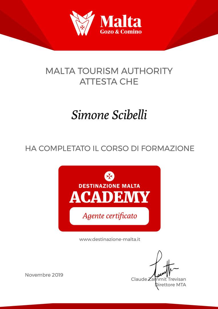 Malta certificate Simone Scibelli.jpg