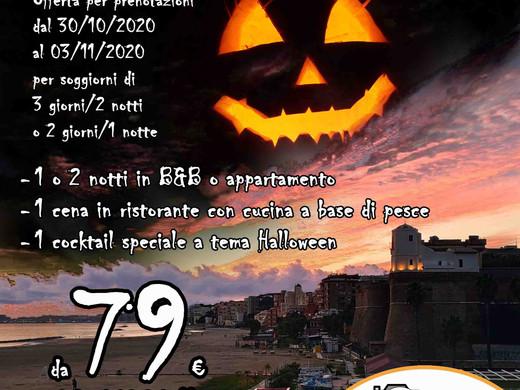 Vieni ad Anzio e Nettuno ad Halloween! (pacchetto di viaggio)
