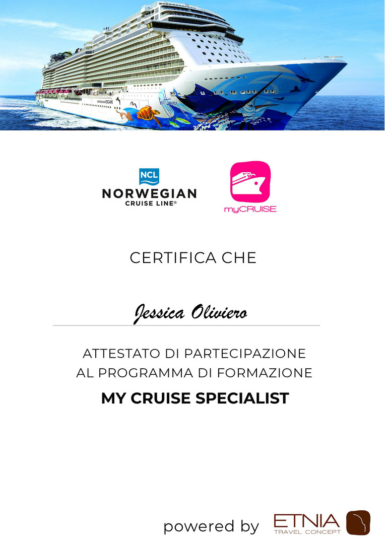 My Cruise Specialist Jessica Oliviero.jp