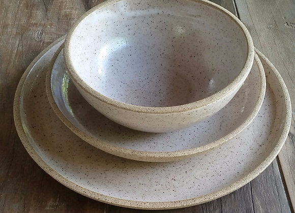 Pratos e bowl Salsalito (cj 3 peças)