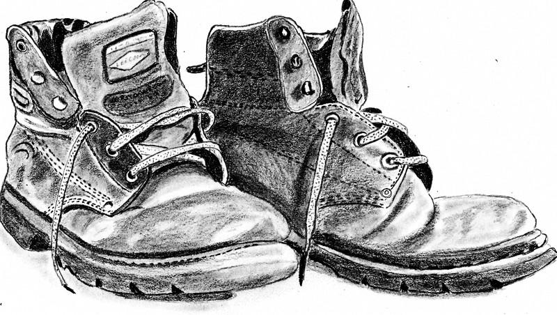 vieille chaussure rituel purification